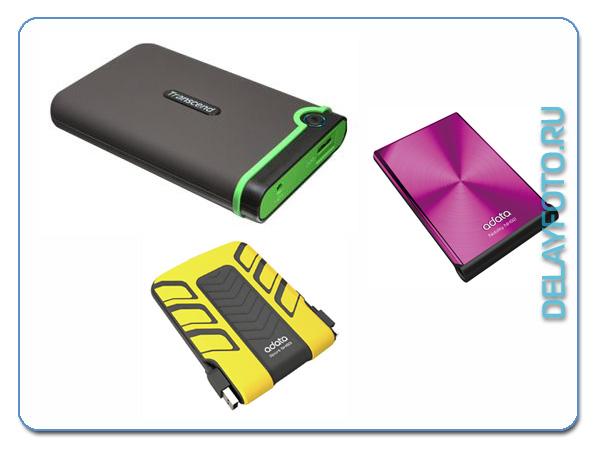 внешний USB-накопитель данных