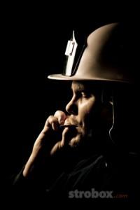 Фотографируем пожарника