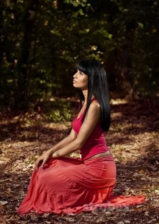 как фотографировать портрет на природе