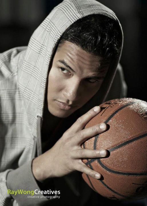 Спортивный портрет - световая схема