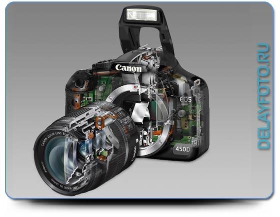 фотокамера Canon EOS 450D