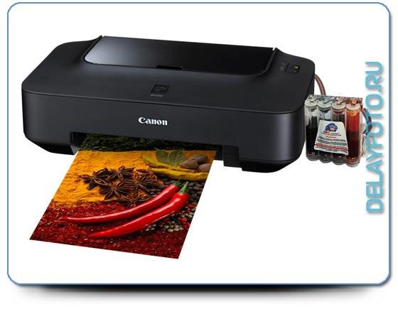 принтер Canon PIXMA iP2700 для фотопечати