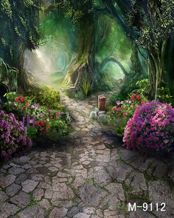 Фон для фотостудии, Алиса в стране чудес