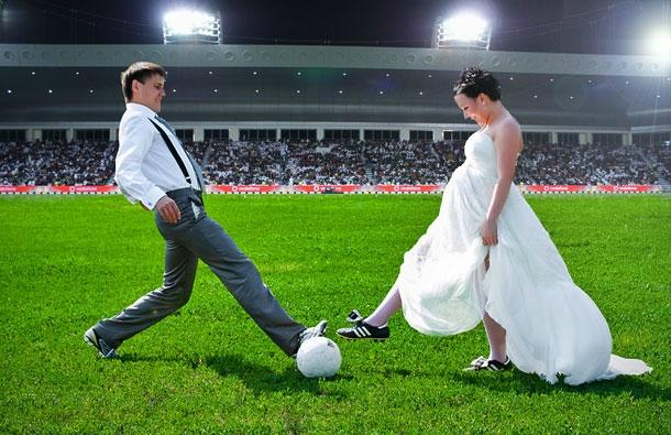 Первое место для свадебной фотосессии
