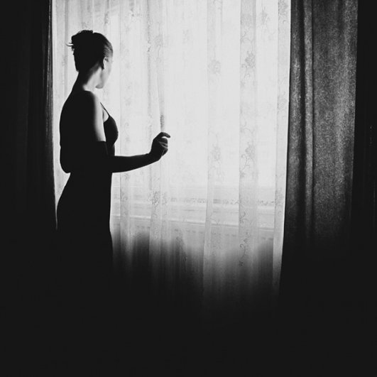 Съемка черно-белого портрета в домашних условиях