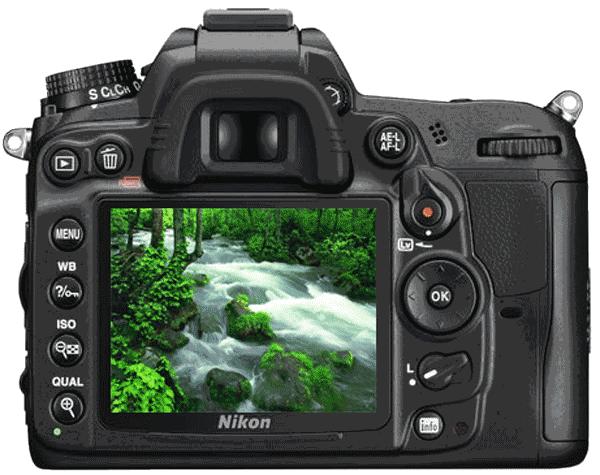 Встроенные эффекты обработки фотографий в фотоаппарате