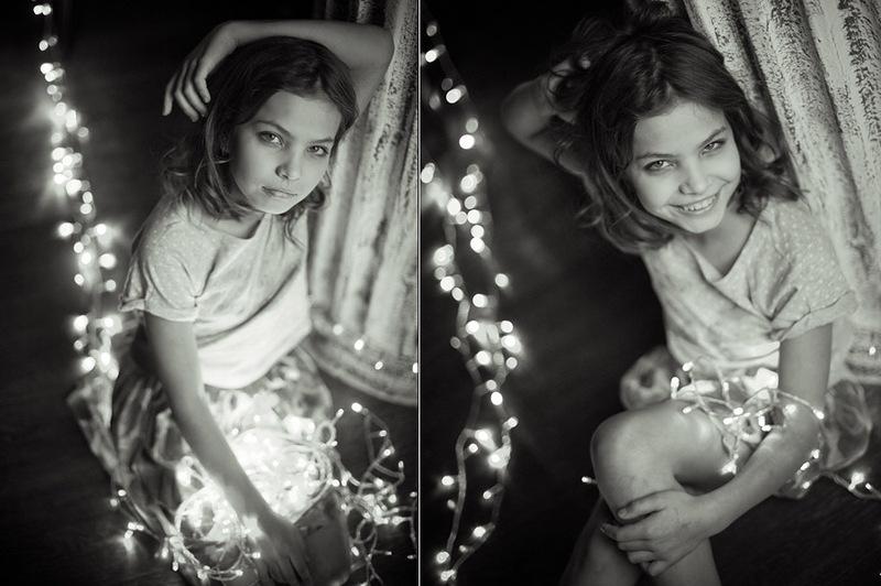 Как сделать красивые фото с гирляндой