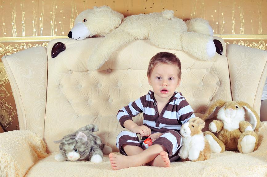 Фотосессия в домашних условиях с ребенком 673