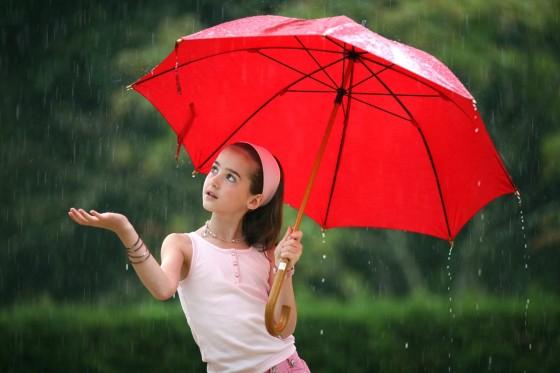 Создаем красивый эффект дождя