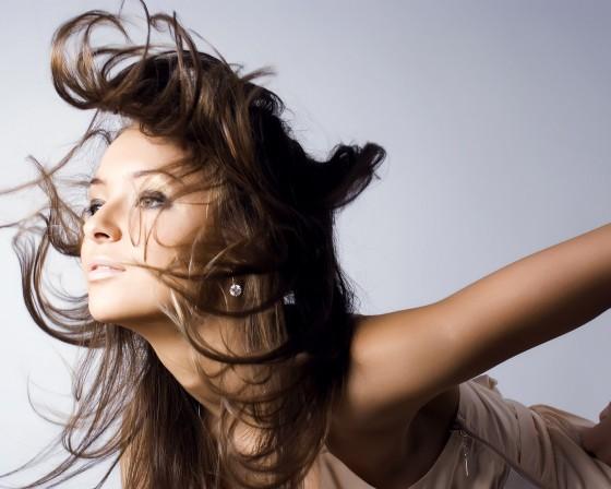 Гламурная фотосесия - Акцент на волосы