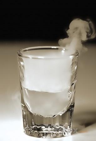 Как фотографировать стакан - светова схема