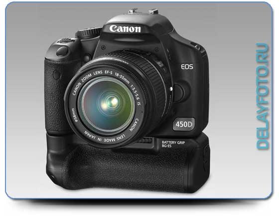 Топовая фотокамера 2011г - Canon EOS 450D